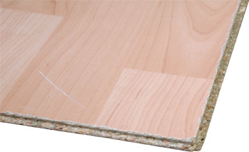 damaged laminate flooring
