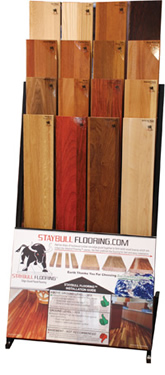 Staybull Flooring® display