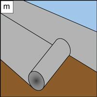 cover subfloor with asphalt felt