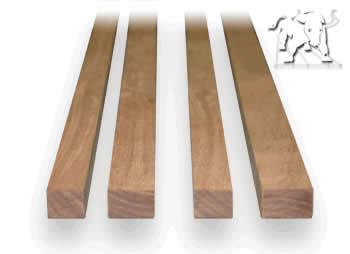 Salvaged lumber strips