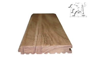 recycled wood flooring plank